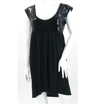 French Connection - Size: 8 - Black - Knee length dress