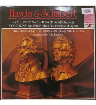 Haydn & Schubert Symphonies.  The Orchestra of St. John's, Smith Square, London/John Lubbock. Contour CC7617.,