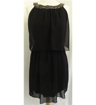 Boohoo - Size: 8 - Black - Short dress
