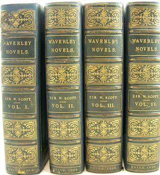 The Waverley Novels, Four Volumes