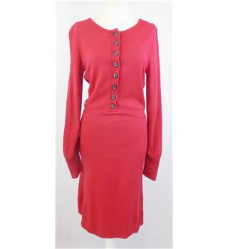 Red Herring - Size: 8 - Red - Knitted Dress