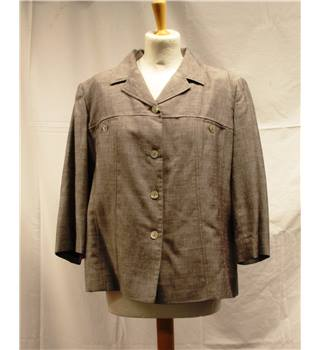 Eastex - Size: 14 - Grey - Smart jacket / coat