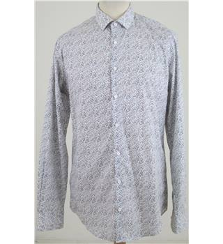 "M&S Autograph size: collar: 15"" long sleeved shirt"