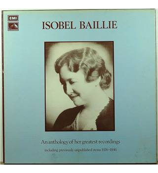 Isobel Baillie ‎– An Anthology Of Her Greatest Recordings Including Previously Unpublished Items 1926 - 1946 - RLS 714