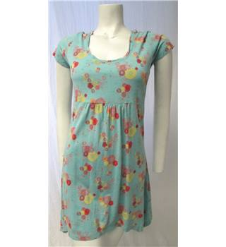 Mantaray Size 8 Pale Blue Floral Dress Mantaray - Size: 8 - Blue