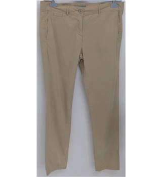 "M&S Marks & Spencer - Size: 34"" - Beige - Trousers"