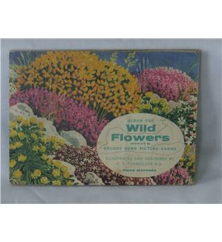 "50% OFF SALE Brook Bond Picture Cards ""Wild Flowers Series 2"" Complete in Collector's Album"