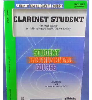 Student Instrumental Course Level One - Clarinet Student