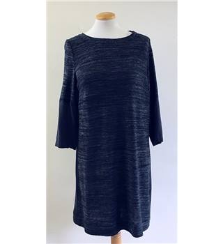 White Stuff Size 10  Grey Knee length dress