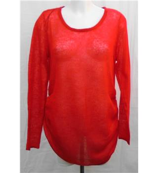 H&M Size XL red maternity jumper