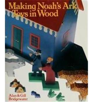 Making Noah's Ark toys in wood