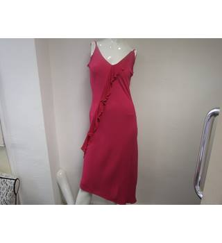 Ladies sleeveless evening/occasion dress Size M Ghost - Size: M - Pink - Sleeveless