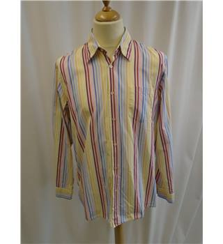 Hugo Boss - Size: L - Multi-coloured - Long sleeved - Striped  Shirt