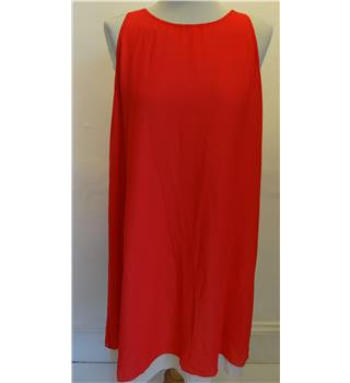 Red/Beige Dress by Peruzzi - Size: M - Short