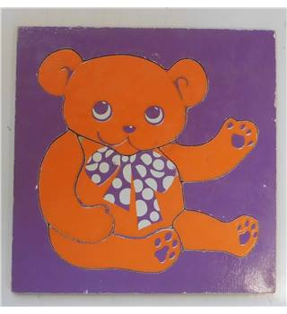 Teddy Bear 6-piece Jigsaw puzzle