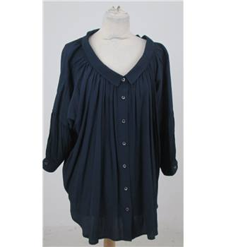 Peter Jensen, size S navy loose fitting smock top