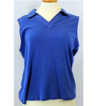 Maine New England - Size: 18 - Royal Blue - Sleeveless top/blouse