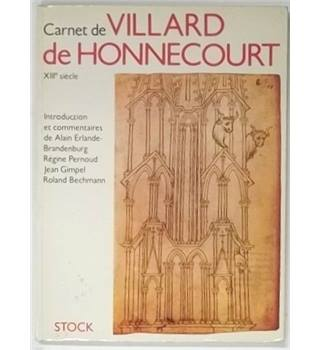 Carnet de Villard de Honnecourt [1986, French text]
