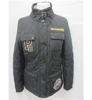 Paul's Boutique Ladies Black Quilted Jacket size M Paul's Boutique - Size: M - Black - Casual jacket / coat