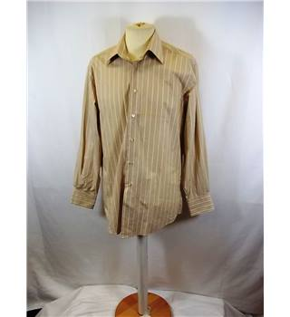 Calvin Klein - Size: M - Beige - Long sleeved Shirt