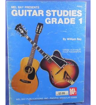 Mel Bay Presents Guitar Studies Grade 1