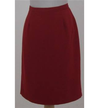 JFW Collection - Size: 14 - Red - Knee length skirt