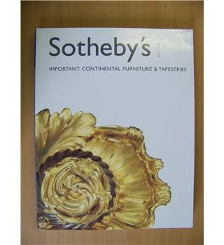 Sotheby's : Important Continental Furniture and Tapestries 12th Dec 2001