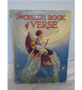 The Children's Book Of Verse - Margaret W. Tarrant - Hardcover