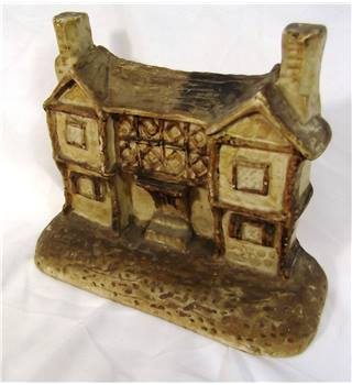 Vintage Sculpture of a House BISH 1933