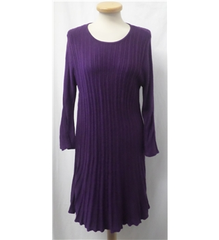 Casamia exclusive - Size: S - Purple - Knee length dress