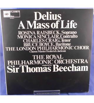 Delius A Mass Of Life Sir Thomas Beecham - 61182/3