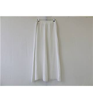 "50% OFF SALE Claudia Slater Maxi Skirt in White 34"" Waist Claudia Slater - Size: 34 - White - Long skirt"