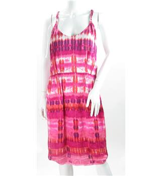 Banana Republic - Size: 8 - Pink Tie Dye Dress