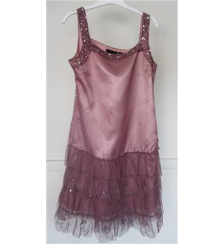 Signature Next 12 years bridesmaids/ party dress Next - Size: 12 - Pink - Sleeveless