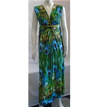 Stella Morgan Dress - Size - Medium - Multi Coloured
