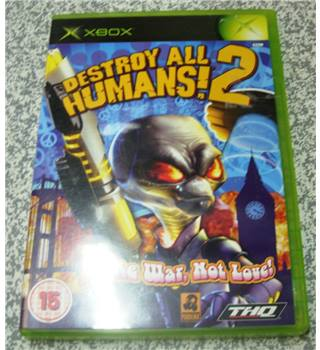 Destroy All Humans 2 (X-Box)