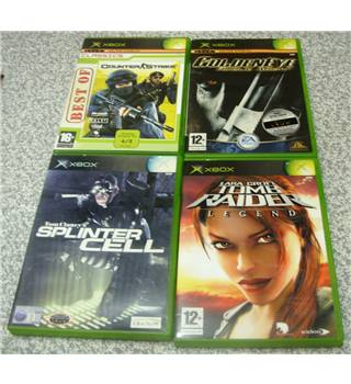 X-Box Action / First Person Shooter Bundle