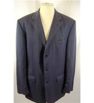 Jaeger - Size: L - Blue - Single breasted suit jacket