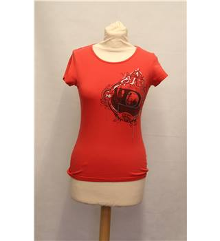 DKNY - Size: S - Red - T-Shirt