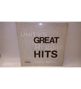 Unity's Great Reggae Hits LP Various - ECO7