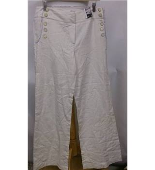 BNWT Atmosphere (Primark) size: 14 cream linen trousers