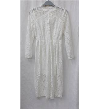 AIYIHUI size: M ivory lace dress