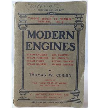 "Modern Engines (The ""How Does it Work"" Series no. 3)"