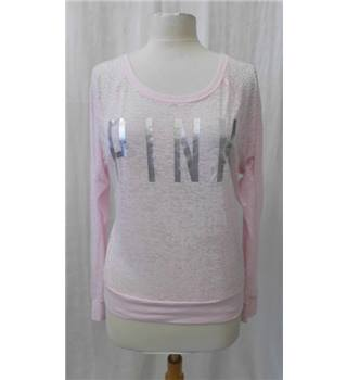 Pink - Size: XS - Pink - Long sleeved top