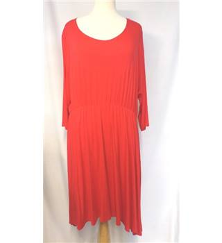Excite Clothing - Size: 22 - Red - Asymmetrical dress