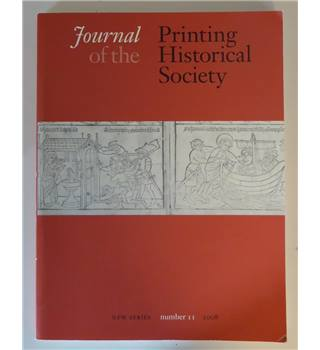 Journal of the Printing Historical Society - Number 11 - 2008