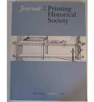 Journal of the Printing Historical Society - Number 7 - 2004