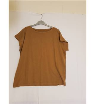 brown toast mens tshirt toast - Size: S - Brown - Short sleeved T-shirt