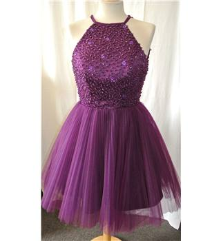 Unbranded - Size: 6 - Purple - Evening dress, truely lovely