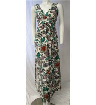 Warehouse Floral Dress Size 6 Warehouse - Size: 6 - Multi-coloured